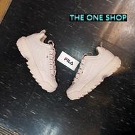FILA 老爹鞋 鋸齒鞋 粉色 粉紅色 韓國 韓版 鋸齒 厚底鞋 厚底 增高鞋 增高 復古 復古鞋 DISRUPTOR 2 FS1HTA1075X EPK