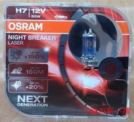 OSRAM Night Breaker Laser 雷射星鑽 H7 64210 +150% NL-HCB