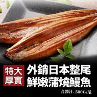 【優鮮配】日式蒲燒鰻魚500g含醬汁(固體物325G+-10%)-任選