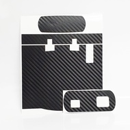 Motorcycle IU Sticker Top Front and Back ( Matte Carbon Fibre )