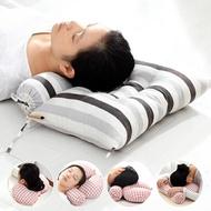記憶枕 頸椎枕頭蕎麥枕護頸枕單人專用圓形糖果枕保健康枕芯