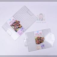 《大信百貨》名仕 正304 #18-8不銹鋼 雙耳方格烤肉網 達人嚴選 安全 無毒 衛生 SGS 台灣正品