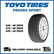TOYO PROXES SPORT - 245/40/20, 275/40/20, 245/45/20 TYRE TIRE TAYAR