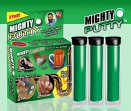 Brand New The Mighty Putty. Fix Fill Seal Anything. Bonds to Any Surface. A Pack of 3 epoxy sticks.