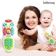 Betterway嬰兒電燈音樂智能手機遙控器教育玩具