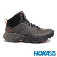 【HOKA】Speedgoat 男GT中筒運動健行鞋 『曜石黑/深鷗灰』1106532