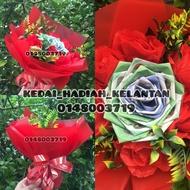 bouquet birthday duit murah