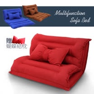 WM 日式多功能雙人沙發床椅/沙發/和室椅(贈蝴蝶結抱枕)