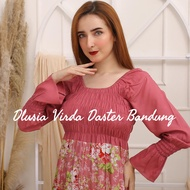 Daster Arab Original Dlusia Virda by Dlusia Realpict