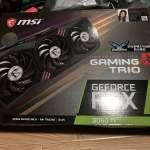 MSI gaming x trio RTX 3060ti