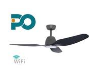PO ECO 52  FANO Ceiling Fan with WIFI & LED Light