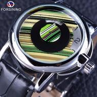 32 自動機械錶 FORSINING創意機械錶 男錶男士創意全自動機械錶男款 腕錶