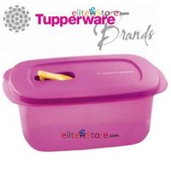 TUPPERWARE LUNCH BOX Crystaware Rectangular 1.7L [PURPLE] Microwavable