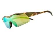 【蘋果戶外】720armour B325-18-HC 霧茶迷彩 紫綠鍍膜 Hitman Jr HiColor 運動太陽眼鏡 適合青少年 小臉女生 自行車風鏡 防風眼鏡