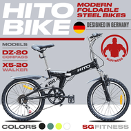 [Pre Order] HITO Foldable Bikes / 20-inch Steel Foldable Bicycles / HITO BIKE / Home Foldable Bike