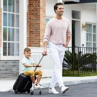 【瑞士Micro】外出良伴-懶人行李箱 (可登機/載小孩/商務旅行)