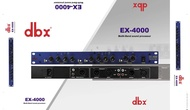 dbx professional vocal beautification ex-4000 exciter pre-effects audio stage microphone gain processor