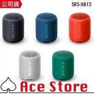 Ace Store | 現貨 SONY 索尼 SRS-XB12 防水 藍芽喇叭 SRS-XB10