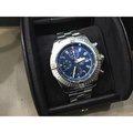 Breitling Super Avenger 百年靈 48mm 機械錶 精品 男 霸氣 正品 計時腕錶 藍面 PVD