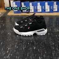 FILA 老爹鞋 鋸齒鞋 黑色 經典款 韓國 韓版 鋸齒 厚底鞋 厚底 增高鞋 增高 復古 復古鞋 D-FORMATION