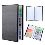 AHLSEN FASHION New Paper Craft Collection Container Book Case Cards Album Leather Card Holder Books