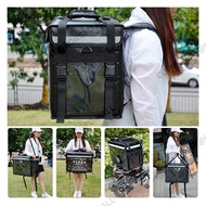 thermal delivery bag delivery box thermal bag food bag backpack delivery bag motorcycle  insulated food delivery bag backpack beg delivery