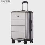 KLQDZMS 20''22''24''26''28''Inchรถเข็นกระเป๋าเดินทางกระเป๋าเดินทางกระเป๋าเดินทางบนล้อPC Cabin Rollingกระเป๋าเดินทาง
