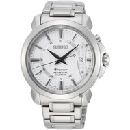 Seiko Premier Classic Calendar Gentleman Watch Snq 155 J 1 41.5 mm