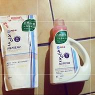#過期#超👍sarasa天然洗衣精補充包箱購12+2包~免運