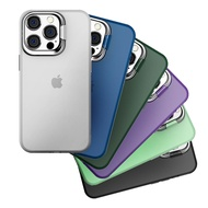 iPaky【鏡頭加高支架】iPhone 13 12 11 Pro Max 保護殼 手機殼 保護套 可當支架 防摔 耐震