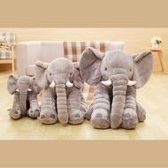 【GToy株式會社】大象40/60/80cm 抱枕 安撫枕(法蘭絨毯)嬰兒寶寶枕交換禮物