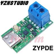 《德源科技》(含稅)ZY12PDS Type-C PD轉DC USB 誘騙器快充觸發器輪詢器檢測器(帶螺絲接線柱)