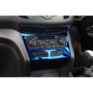 KUGA不鏽鋼冷氣空調中控飾框FORD福特內飾改裝非碳纖維ABC