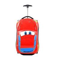 เด็กกระเป๋าเดินทางเด็กกรณีรถเข็นกระเป๋ากระเป๋าเด็กSchoolbagsกระเป๋าเดินทางล้อ 3D Supercarเดินทางกรณีของเล่นสำหรับชนิด