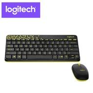 【Logitech羅技】MK240 NANO 無線鍵鼠組(黑)