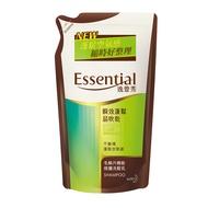 逸萱秀 Essential 瞬效蓬鬆易吹乾洗髮乳補充包 550ml │9481生活品牌館