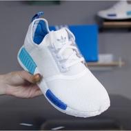 【正版】Adidas Originals NMD R1 白藍 聖保羅 網布 S75235 輕量 慢跑鞋