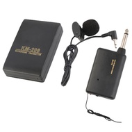Wireless Transmitter Receiver Lavalier Microphone Mic System