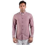 Men's Long Sleeved Shirt - Akemi (Straight)