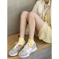 【日本海外代購】NEW BALANCE 327 復古橘 奶茶色 卡其 奶茶 杏色 麂皮 經典 日系 熱門款 搶先女 WS327MS