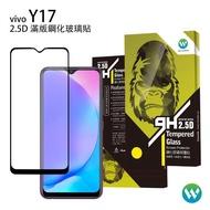 【Oweida】VIVO Y17 2.5D滿版鋼化玻璃貼
