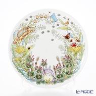 真愛日本 紀念磁盤 季節編 3-4月 龍貓TOTORO 骨瓷盤 斯里蘭卡 日本Noritake 餐盤 水果盤 盤 4975946108195