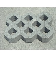 新竹《橫山建材》水泥製品 園藝 【植草磚】、百歲磚、空心磚 、步道磚 、平板磚