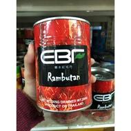泰國 現貨 EBF糖水紅毛丹 HI 淨重565g 固形量200g 紅毛丹 罐頭