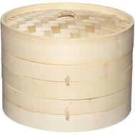 【KitchenCraft】雙層竹編蒸籠(20cm)