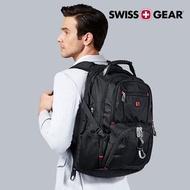 瑞士設計【SWISSGEAR】瑞士軍刀 大尺寸17吋  雙肩包 USB 時尚 筆電  後背包 禮物 電競 SG-03