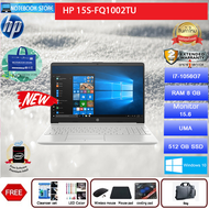 HP 15S-FQ1002TU (SILVER)/I7-1065G7/8 GB DDR4/512 GB SSD/15.6  FULL HD/Intel UHD Graphics G1/WINDOWS 10 HOME/2Y/BY NOTEBOOK STORE