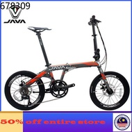 bicycle folding bicycle mtb bike basikal ☚JAVA folding bicycle aluminum alloy folding bike 20 inch 7 speed 18 speed dual