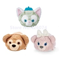 New Mini Tsum Tsum Duffy Shellie May Bear Gelatoni Cat Plush Smartphone Cleaner Kids Stuffed Toys Small Pendant Children Gifts - intl