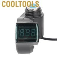 Cooltools 電動自行車電壓表,帶綠色數字電壓的數字直流電壓表